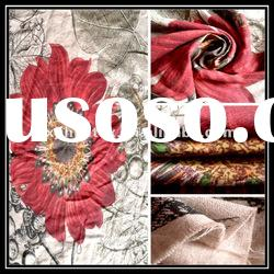 Printing Natural Color Linen Fabric for Tablecloth