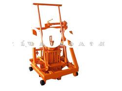 QT40-3C Small manual block machine