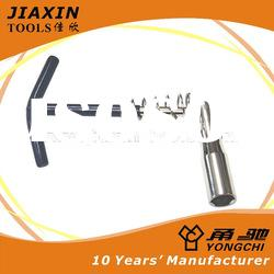 Quality Hand Socket Wrench - T handle spark plug socket wrench with spring and flexible head