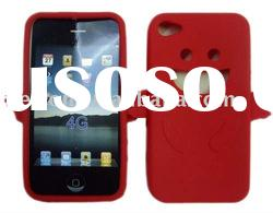 Red Angel Silicone case For iphone 4g