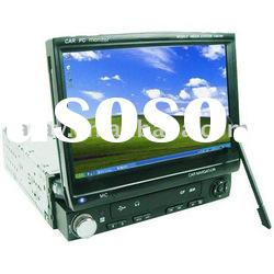 Reversing view function 7 inch single din indash lcd monitor