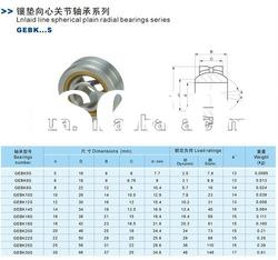 SKF IKO INA ball joint rod end bearing GE120ET-2RS