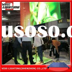 SMD P10mm full color multifunctions indoor Mobile rental led floor