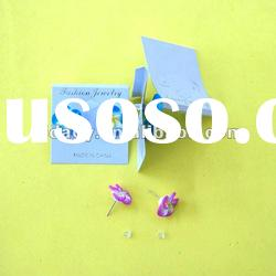 Soft pottery Polymer Clay earring