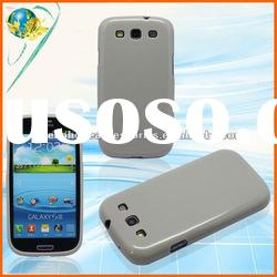 Solid Phone Skin Cover For Samsung Galaxy S3 i9300 Mobile Phone TPU Protective Case