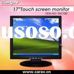 Stock offer 17 inch LCD Touch Monitor with VGA for PC