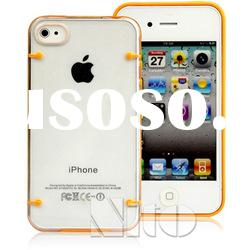 TPU back case for iphone 4g 4s