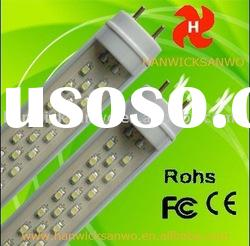 TRANSPARENT led tube t8 4 FEET