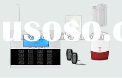 The new style GSM & PSTN alarm system with touch screen--AF-GSM12