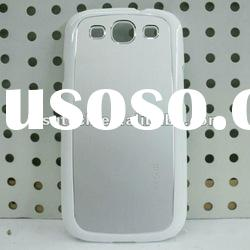Unique high gloss ultra-thin polishing pc case for samsung i9300 factory price