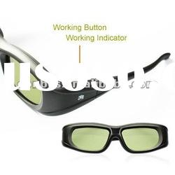 Universal IR Sync 3D active shutter glasses