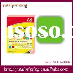 Wholesale high quality colored a4 paper 80 gsm