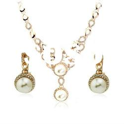 (061905) Hot Pearl wedding Indian bridal Jewelry Sets