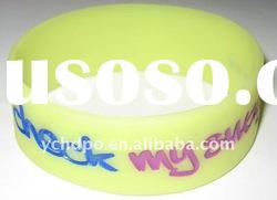 best promotion gift silicone bracelet colorful