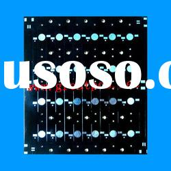 black solder mask aluminium base led pcb board