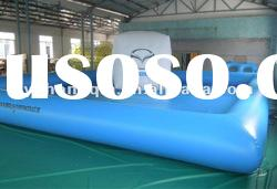 blue inflatable water pool,inflatable swimming pool