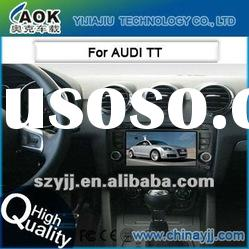 car audio system for AUDI TT with dvd gps navigation system bluetooth
