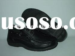 cheap leather shoes in hot sale