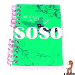 cheap spiral customized mini notebook for kids