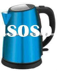 cordless stainless steel electric kettle /1.2L/water level indicator