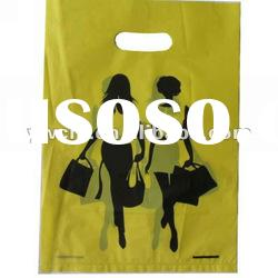 die cut hdpe shopping bag