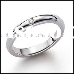 elegant silver ring & bridal silver jewelry