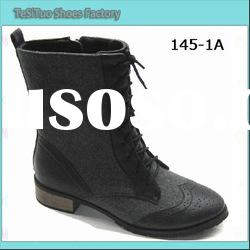 fashion lady flat boots