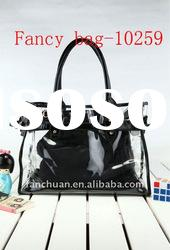 fashion vinyl clear pvc tote bags