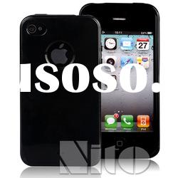 for iphone4/4S black tpu case