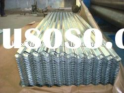galvanized corrugated steel roofing