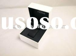 high-end&exquisite shinning white plastic watch case