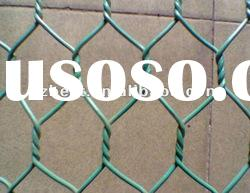 high quality PVC coated hexagonal wire netting