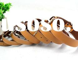 high quality leather pet dog collar for wholesale GuangZhou supplier