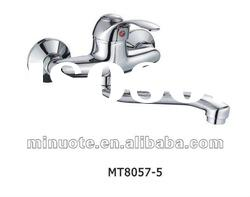 high quality single handle wall mounted kitchen mixer