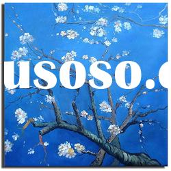 hot !modern decoration flower oil painting on canvas 2012