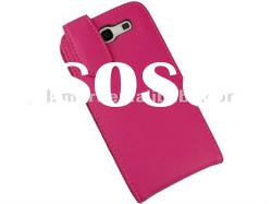 hot pink LEATHER case pouch cover for SAMSUNG GALAXY S3 III i9300