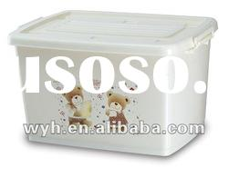 large plastic storage container