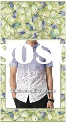 men's floral print shirt fancy print shirt muscle print shirt