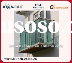 modern outdoor balcony design railings glass and fittings OEM service