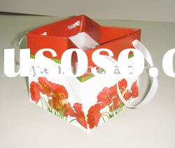 new gifts bag High quality Coated Paper Gift BAG Vase packaging
