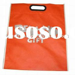 non woven die cut gift packing bag