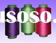 polyester colored filament yarn 150D DTY