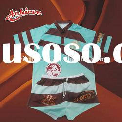 printing custom design rugby uniform jersey
