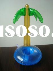 pvc inflatable cup holder / inflatable mobile phone holder /Inflatable cellphone holder