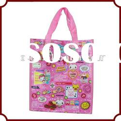 recycle customized woven shopping bag