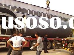 rubber oil pyrolysis machinery recycling waste rubber to fuel oil