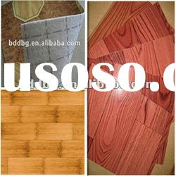 smooth and embossed surface PVC roll flooring wood look