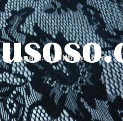 spandex/nylon lace material for garment