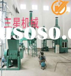 sx800 waste cable and wire pulverizer
