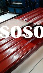 trapezoid metal roof sheet prepainted galvanized corrugated steel roof sheets